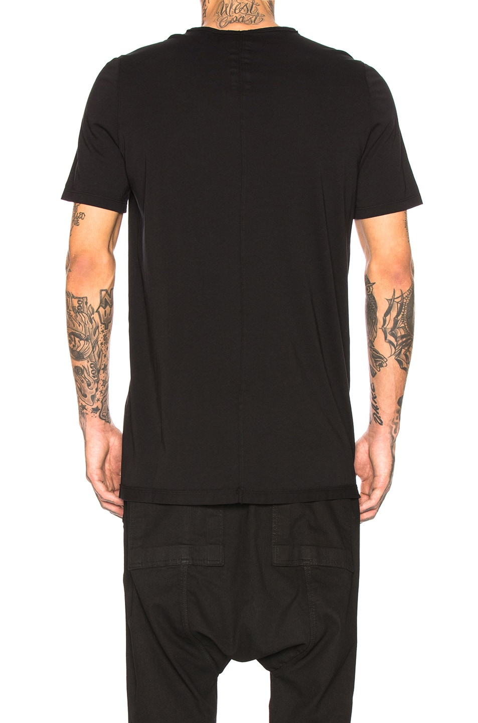 DRKSHDW by Rick Owens Level Tee Black lovely