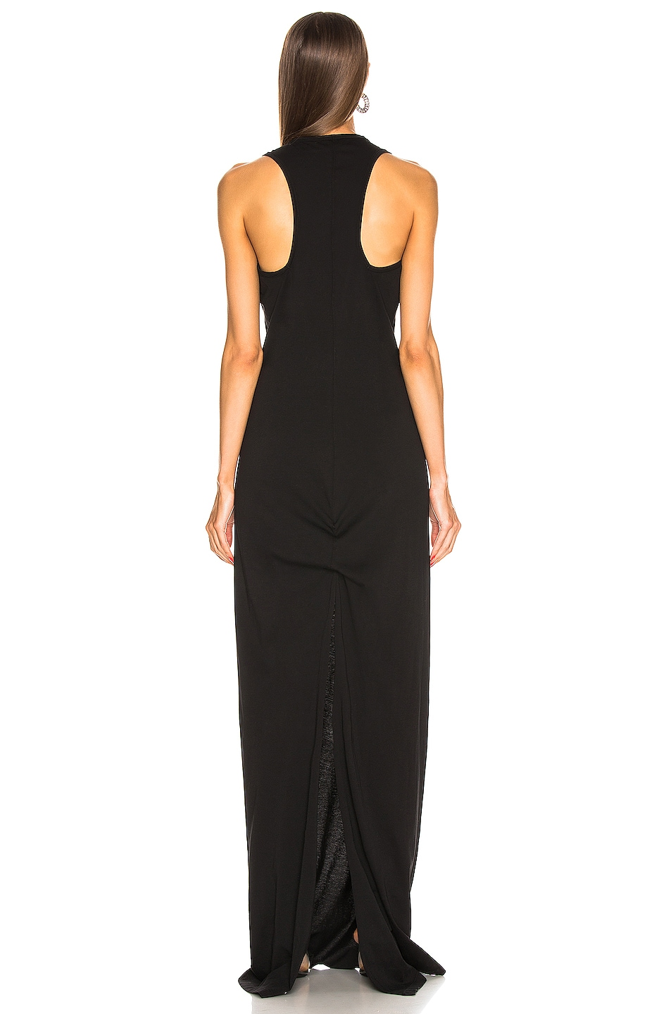 Image 3 of DRKSHDW by Rick Owens Column Gown in Black