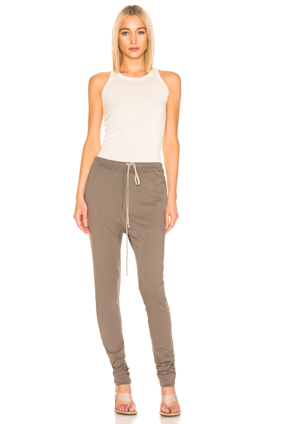 Image 4 of DRKSHDW by Rick Owens Double Legging in Dust