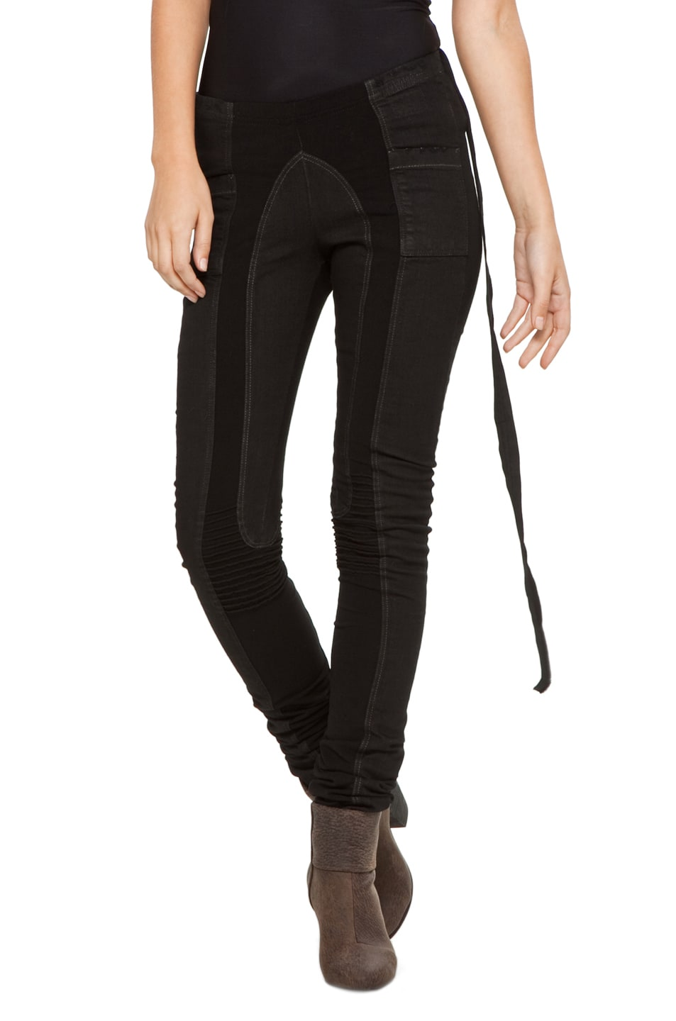 Image 1 of DRKSHDW by Rick Owens Legging in Triple Black