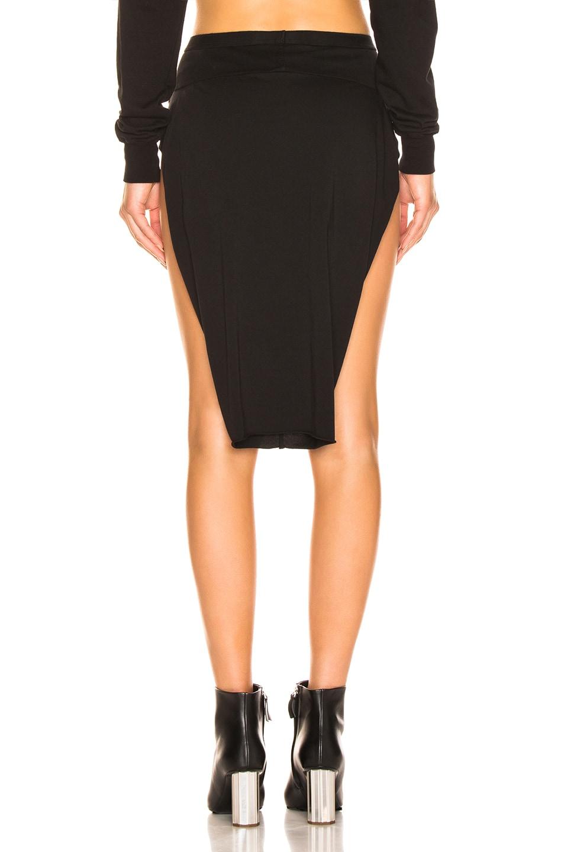 Image 4 of DRKSHDW by Rick Owens Loin Skirt in Black