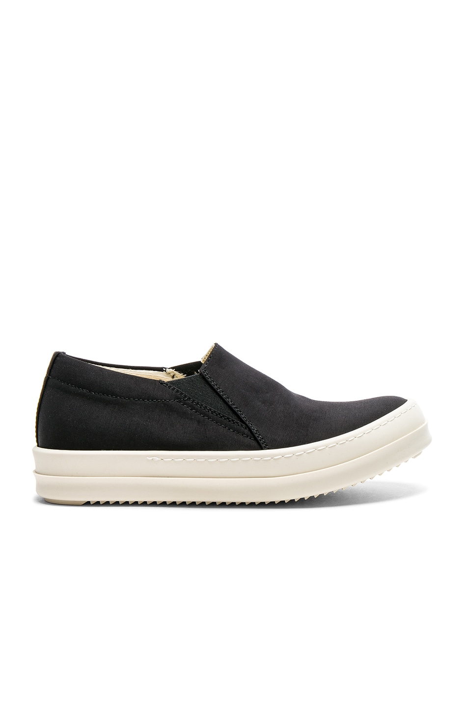 Image 1 of DRKSHDW by Rick Owens Scarpe Deck Sneakers in Black