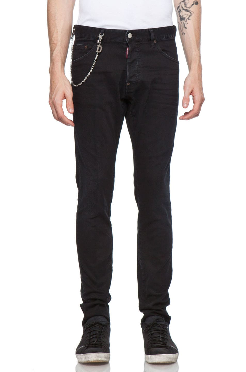 Image 1 of DSQUARED Cool Guy Jean in Black