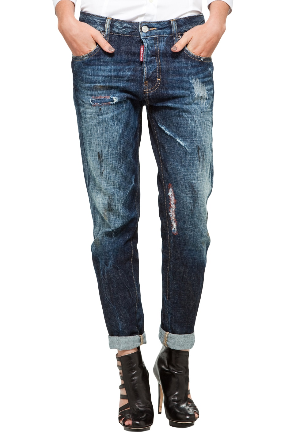 Image 1 of DSQUARED Bunny Jean in Blue