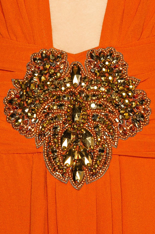 Image 5 of Dundas Embellished Dress in Orange