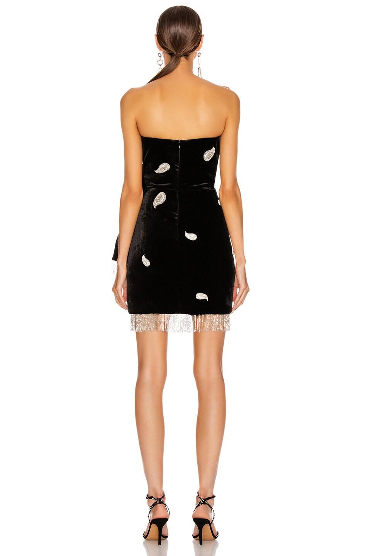 Image 4 of Dundas Strapless Mini Dress in Black