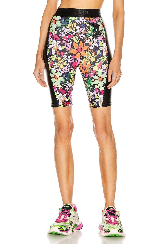 Image 1 of Dundas for FWRD Biker Shorts in Floral Print