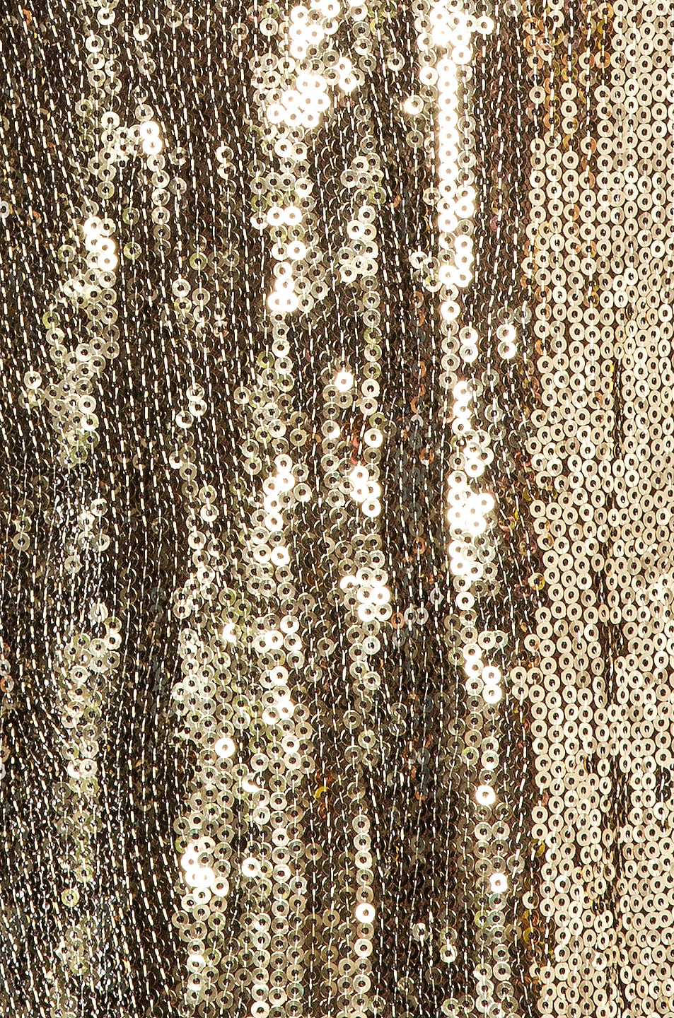 Image 5 of Dundas Sequin Wide Leg Pant in Gold