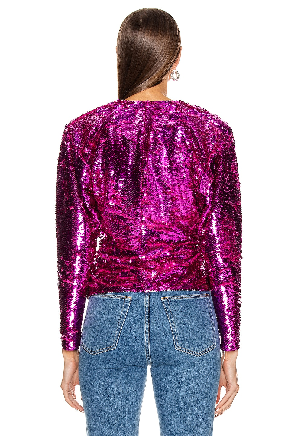 Image 3 of Dundas Long Sleeve Top in Pink