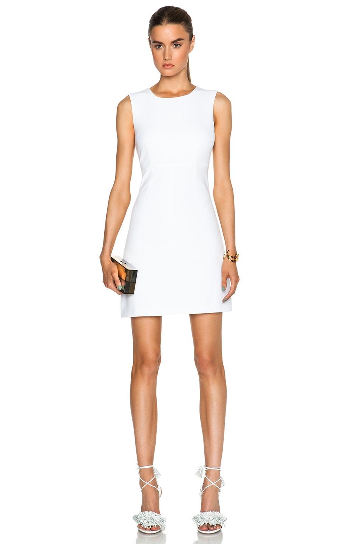 Image 1 Of Diane Von Furstenberg Carrie Dress In White