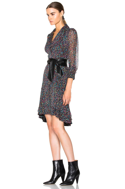 Image 2 Of Diane Von Furstenberg Catherine Dress In Femme Tweed