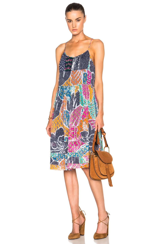 Diane von Furstenberg Franny Dress in Flower Power Dream | FWRD