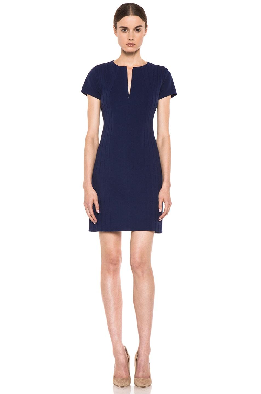 Image 1 of Diane von Furstenberg Kaelyn Dress in Deep Sapphire