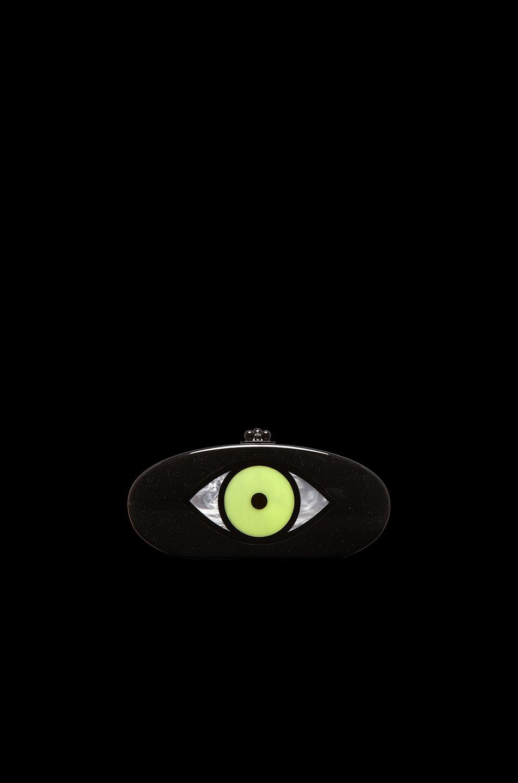 Image 6 of Edie Parker Edie Eye Clutch in Galaxy Glitter Multi