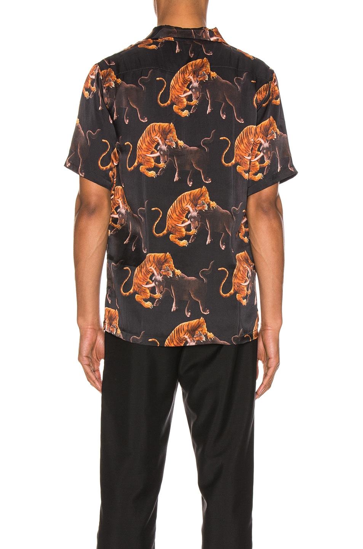 Image 4 of Endless Joy Macan Aloha Shirt in Black & Multi