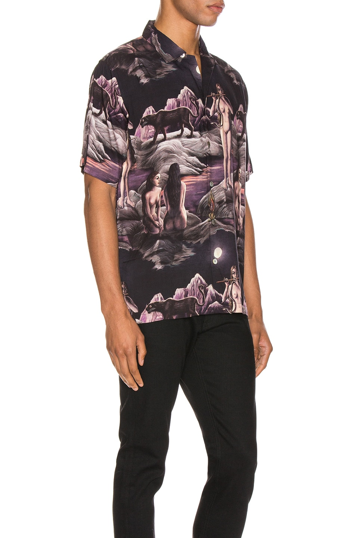 Image 2 of Endless Joy Midnight Aloha Shirt in Multi