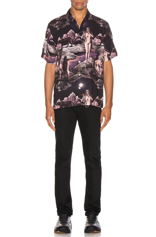 Image 5 of Endless Joy Midnight Aloha Shirt in Multi