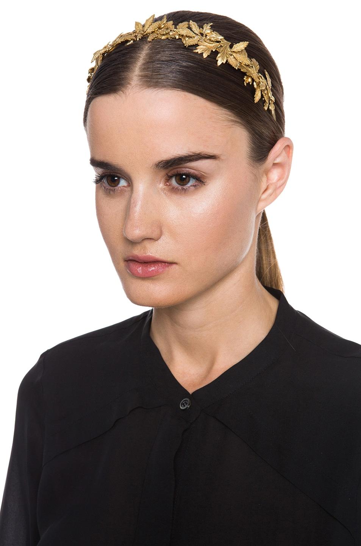 Image 1 of Eugenia Kim Diana Headband in Gold
