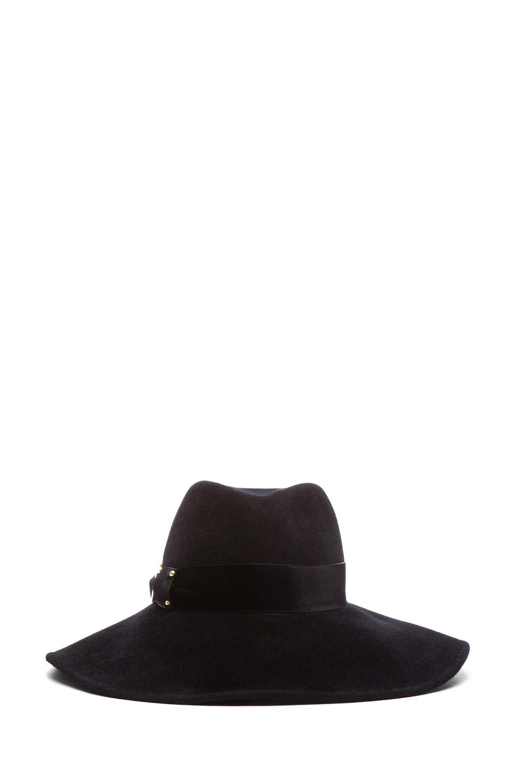Image 1 of Eugenia Kim Emmanuelle Hat in Black