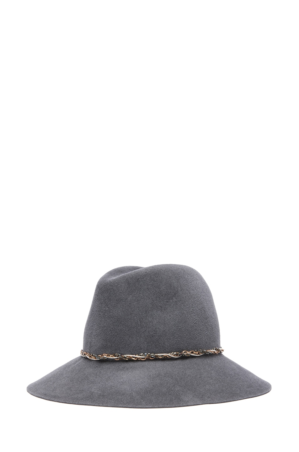 Image 2 of Eugenia Kim Farrah Floppy Hat in Charcoal