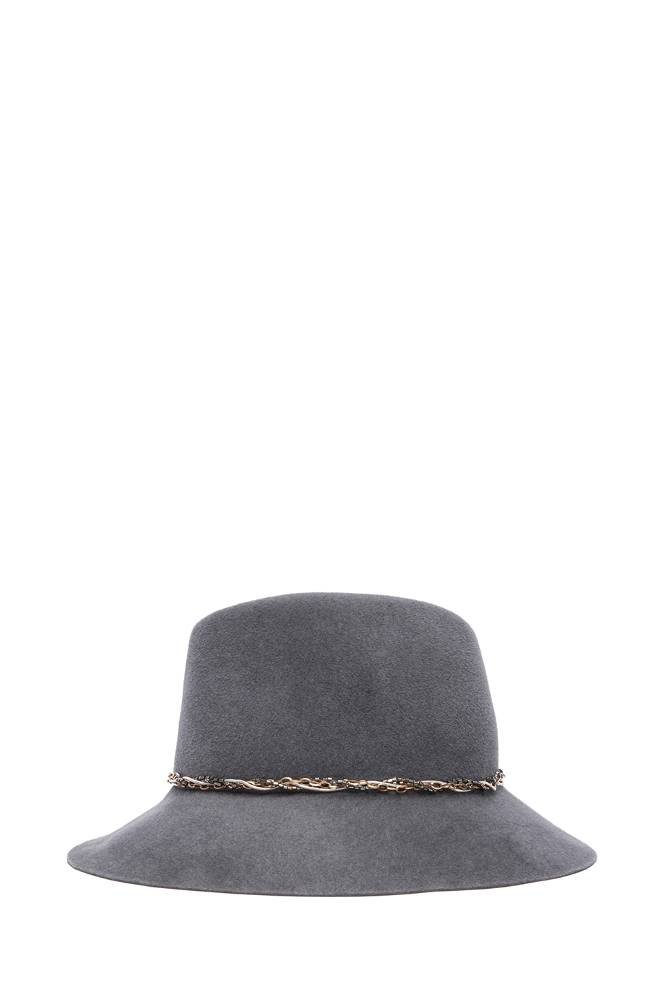 Image 3 of Eugenia Kim Farrah Floppy Hat in Charcoal
