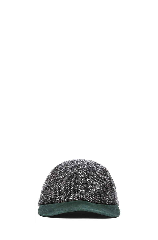 Image 1 of Eugenia Kim Darien Baseball Cap in Charcoal Tweed