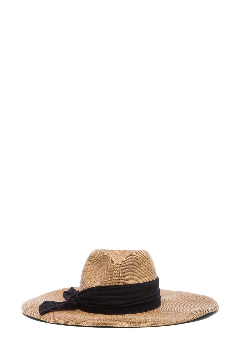 Image 1 of Eugenia Kim Cassidy Sun Hat in Camel & Black