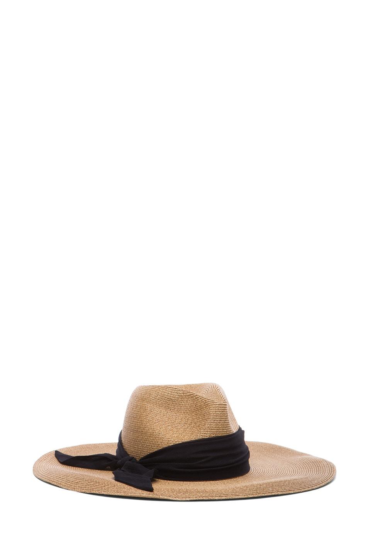 Image 5 of Eugenia Kim Cassidy Sun Hat in Camel & Black