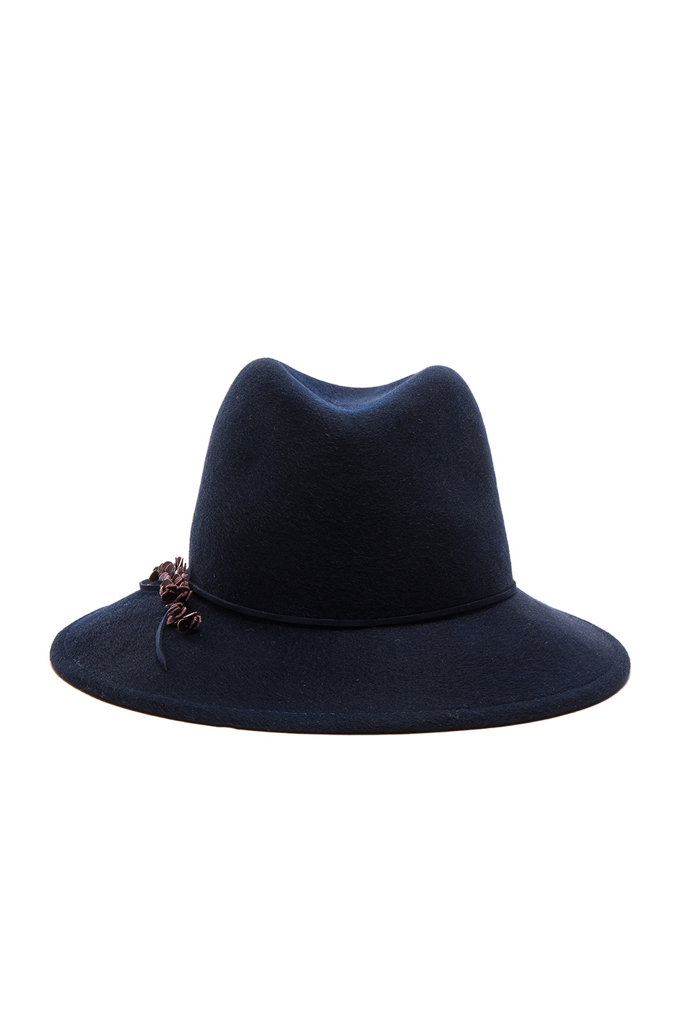 Image 1 of Eugenia Kim Bianca Hat in Midnight