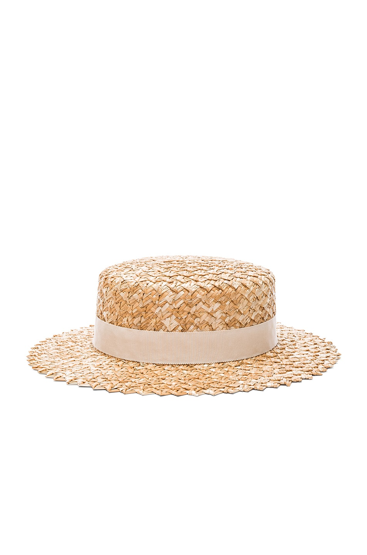 Image 3 of Eugenia Kim Brigitte Hat in Natural