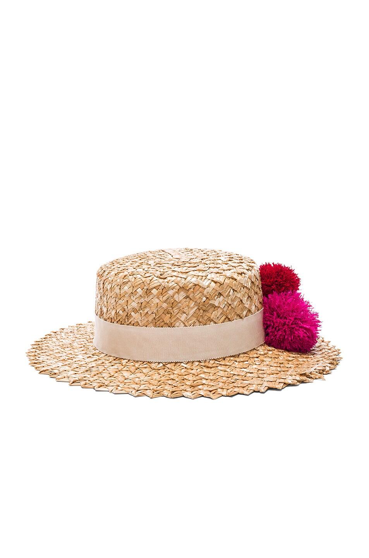 Image 4 of Eugenia Kim Brigitte Hat in Natural
