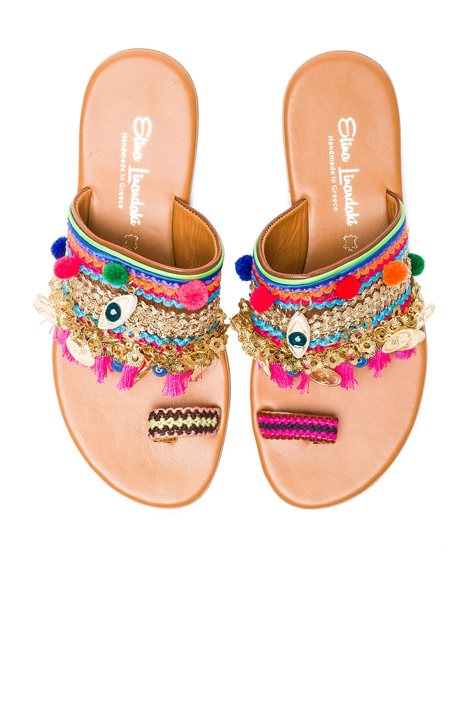 Image 1 of Elina Linardaki Jaipur Sandals in Multi