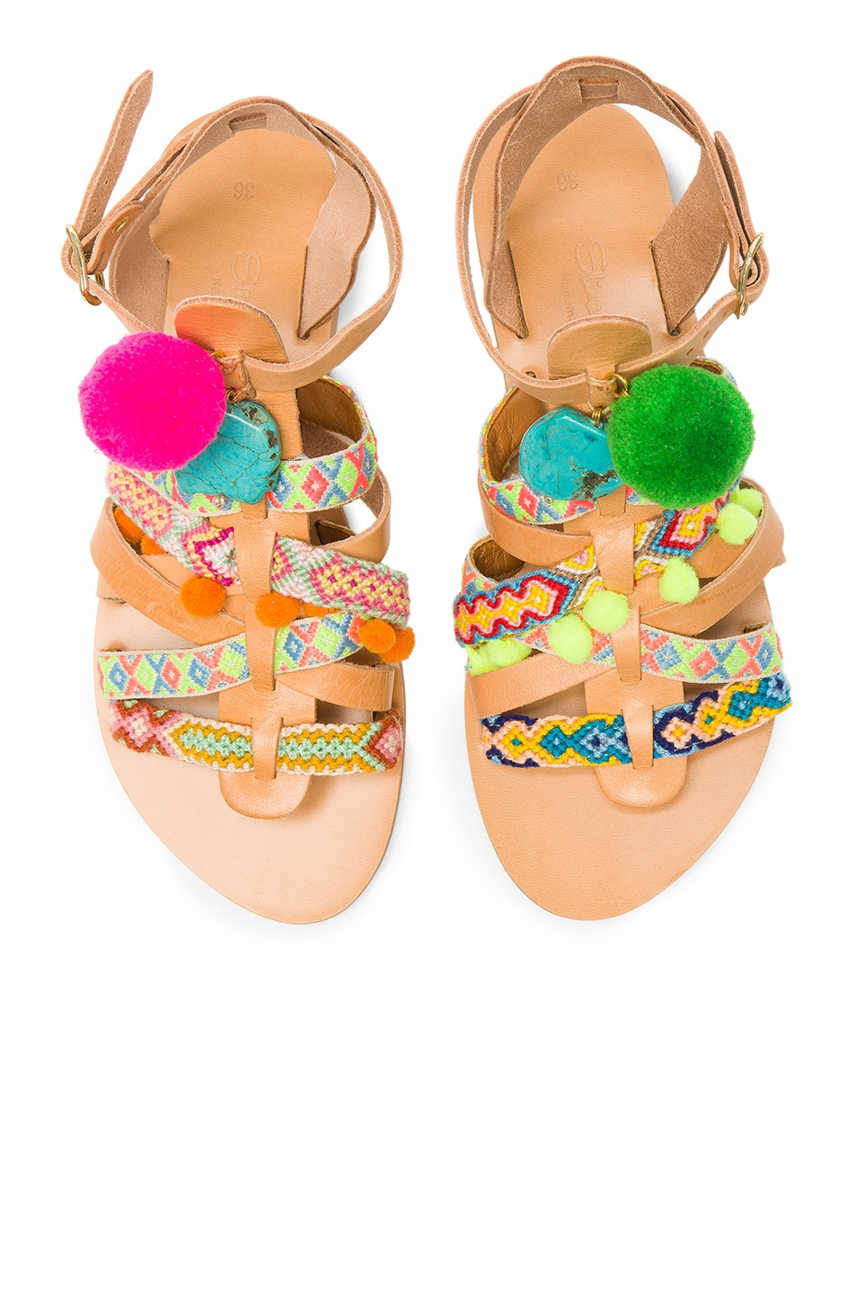 Image 1 of Elina Linardaki Kokomo Sandals in Multi