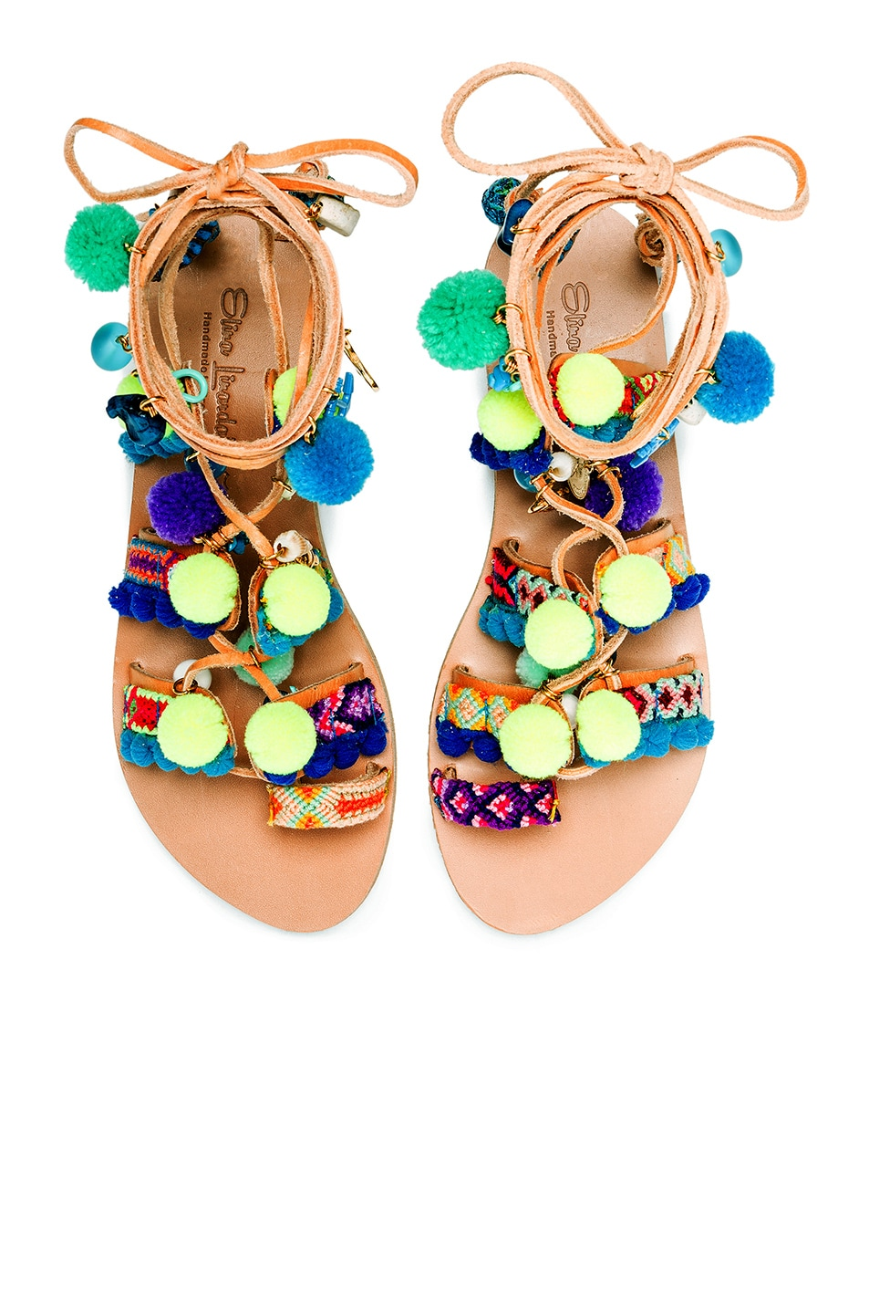 Image 1 of Elina Linardaki Mermaid Motel Sandals in Multi