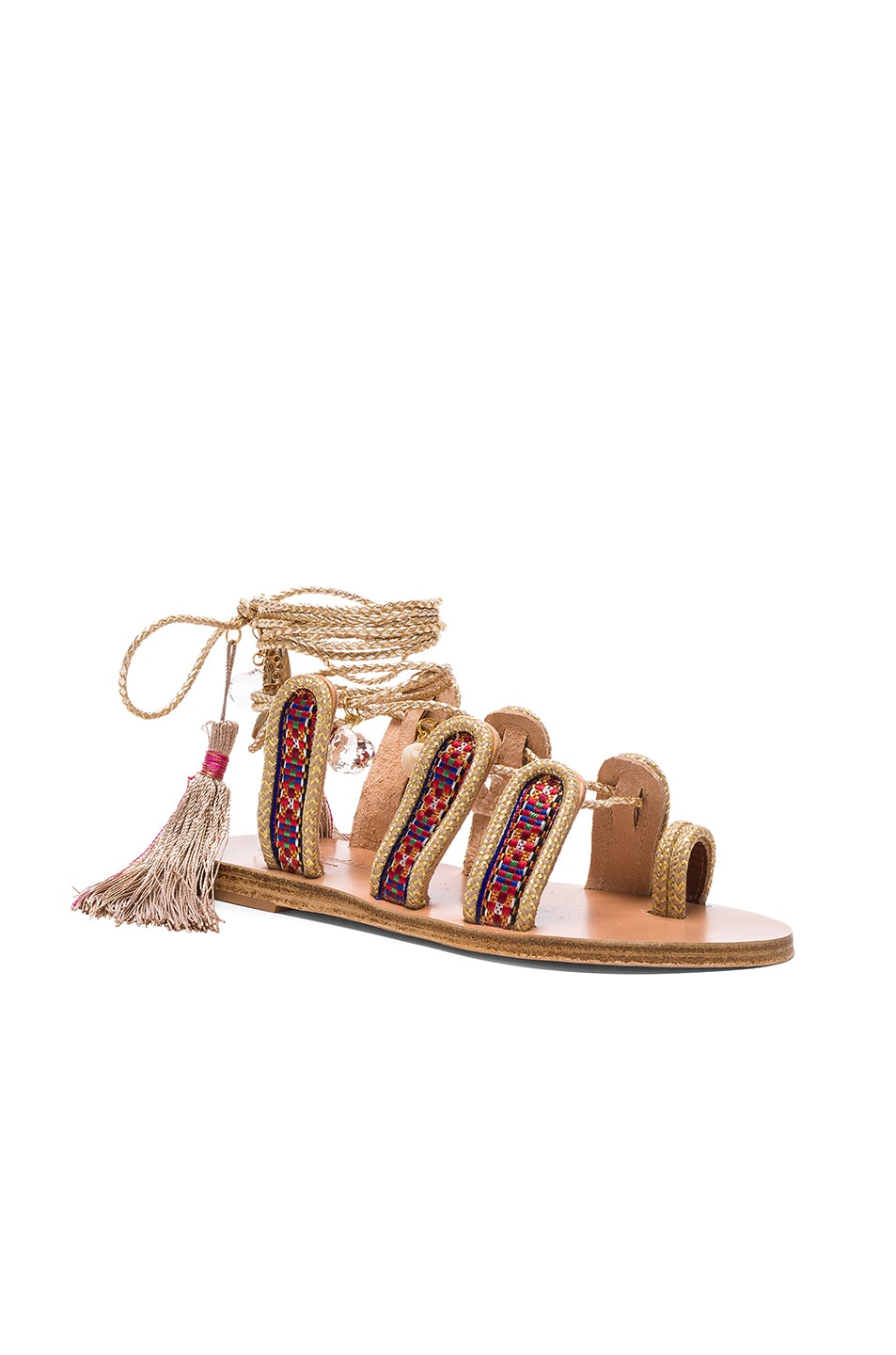 Image 3 of Elina Linardaki The Great Gatsby Sandals in Multi