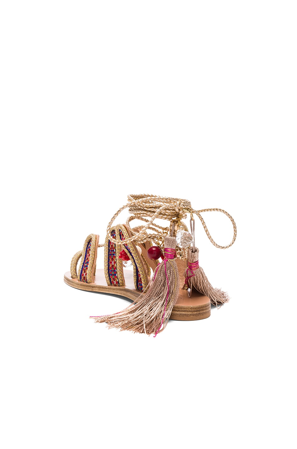 Image 4 of Elina Linardaki The Great Gatsby Sandals in Multi