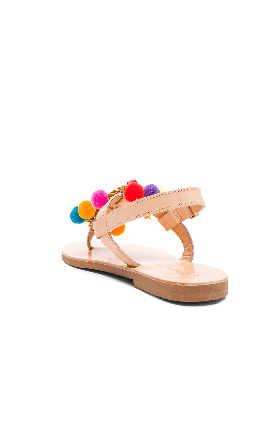 Leather Sandals Jelly Tots, ELINA LINARDAKI Elina Linardaki