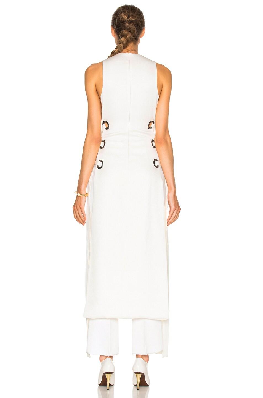 Image 4 of Ellery Utopian V Neck Dress in Ivory