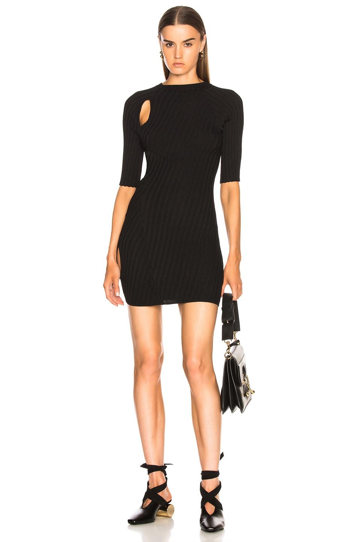 Ellery Taurus Short Sleeve Sweater in Black