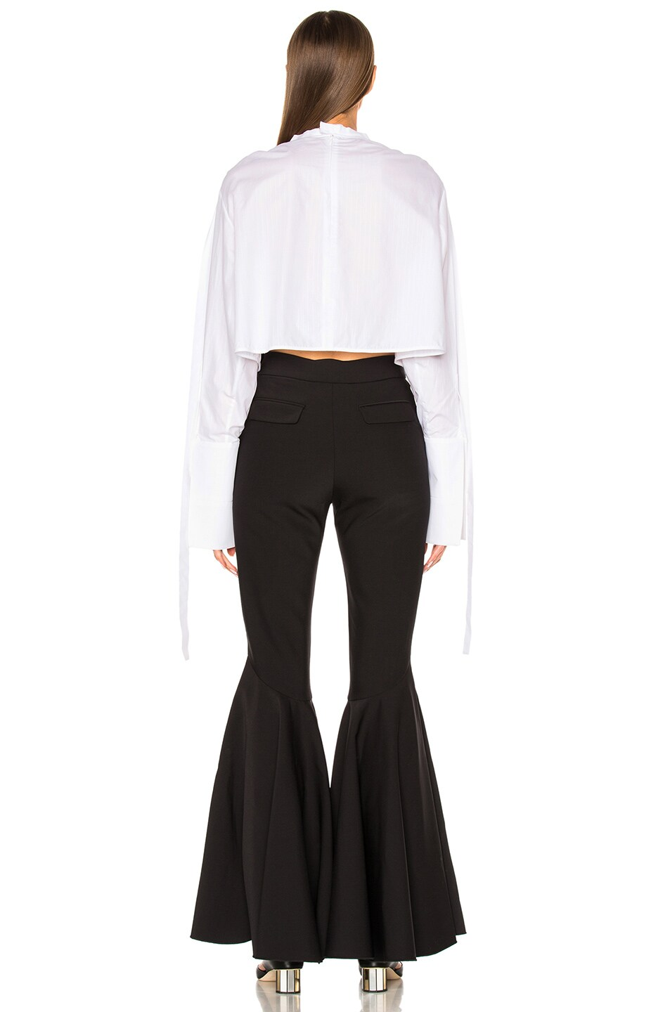 Image 4 of Ellery Hallucinate Top in White