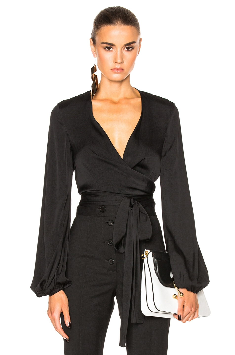 Image 1 of Ellery Missionary Top in Black