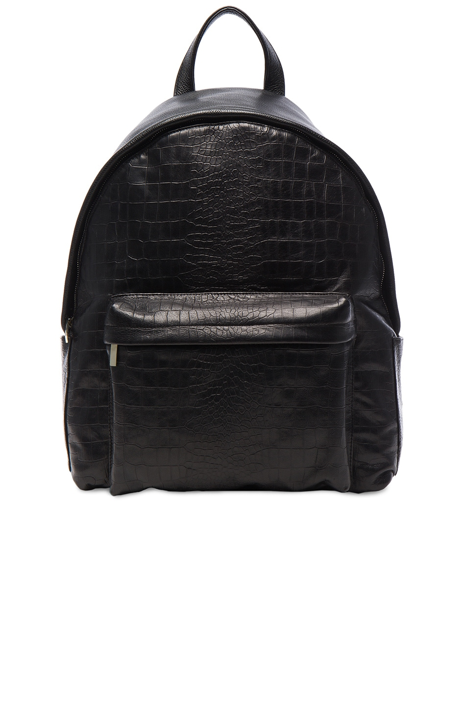 Image 1 of Elisabeth Weinstock Large Andes Backpack in Black with Red Lining
