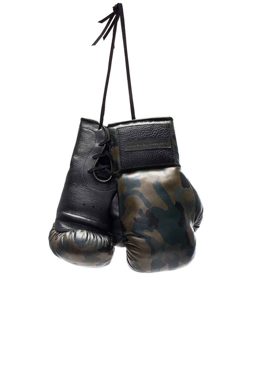 Image 1 of Elisabeth Weinstock Manila Boxing Glove in Green Camo