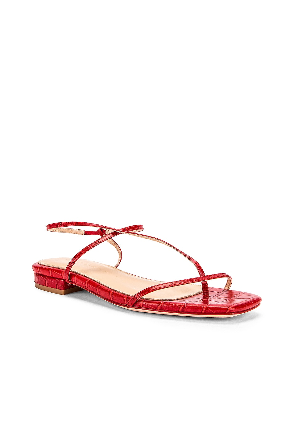 Image 2 of Studio Amelia 1.2 Sandal in Red Croc