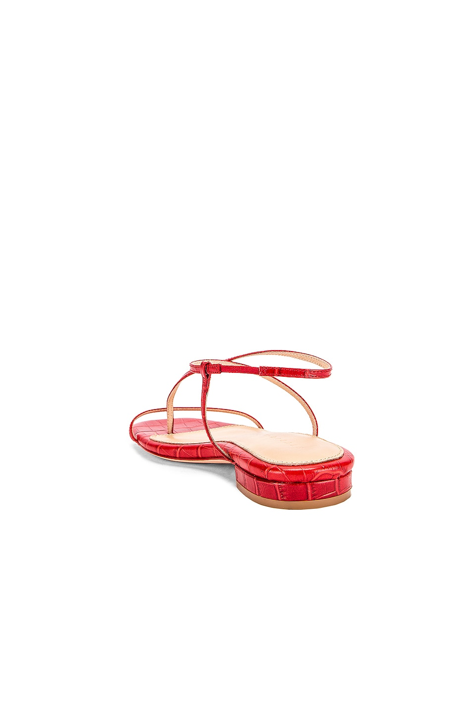 Image 3 of Studio Amelia 1.2 Sandal in Red Croc