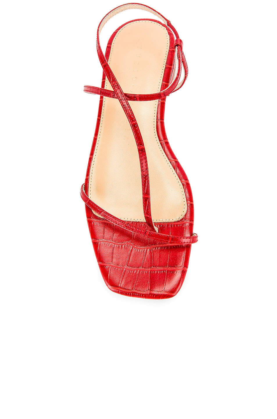 Image 4 of Studio Amelia 1.2 Sandal in Red Croc