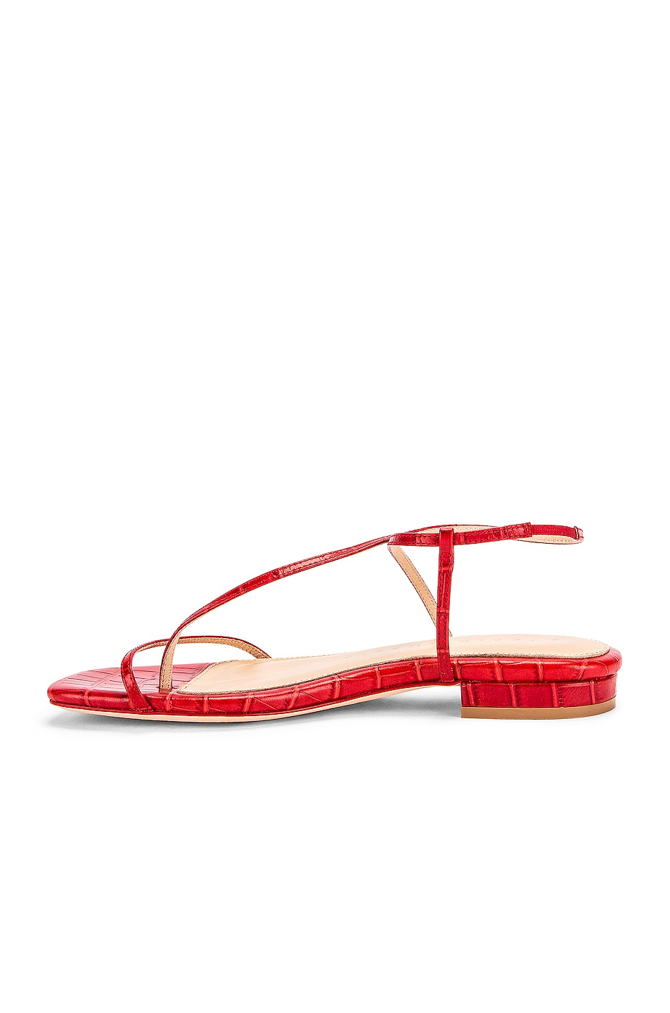 Image 5 of Studio Amelia 1.2 Sandal in Red Croc