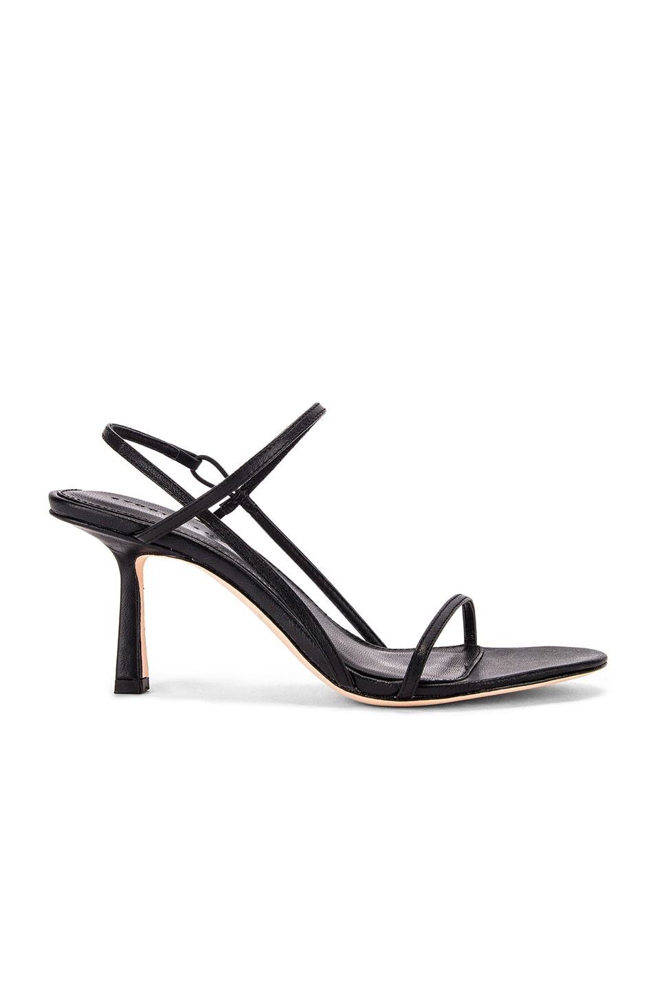 Image 1 of Studio Amelia 2.3 Slingback Heel in Black Nappa Leather