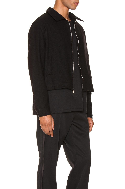 Image 3 of Enfants Riches Deprimes Black Logo Jacket in Black