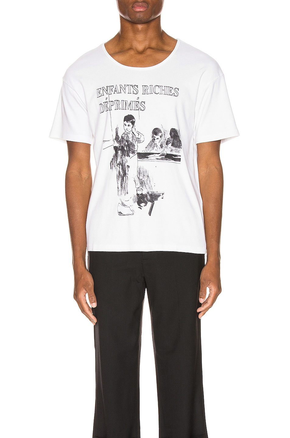 Image 1 of Enfants Riches Deprimes ERD Deaf Child Tee in White